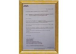 JQA国际认证